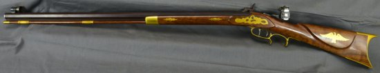 VINTAGE PERCUSSION RIFLE