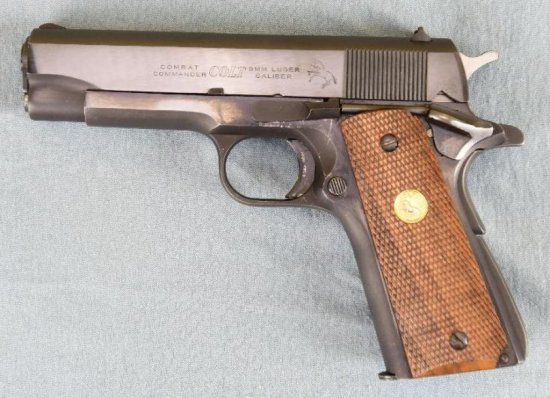 Colt Combat Commander Semi Auto Pistol