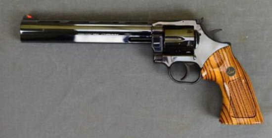 Dan Wesson Double Action Revolver with Three Extra Barrels in Original Fitted Case