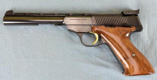 Belgium Browning Challenger Semi Auto Pistol