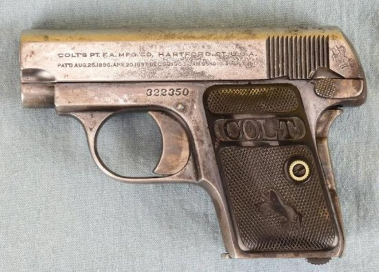 Colt MODEL 1908 Vest Pocket Semi Auto Pistol