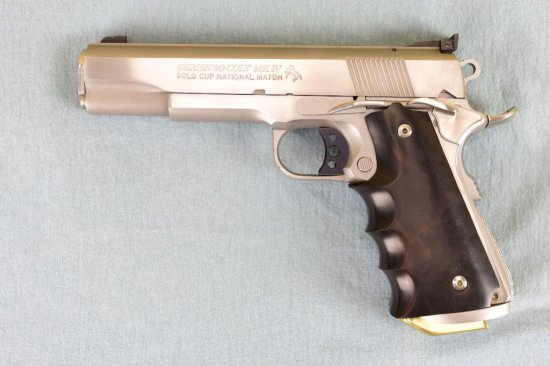 Customized Colt Series 80 Gold Cup National Match Semi Auto Pistol