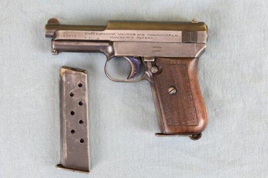 Mauser MODEL 1910 Semi Auto Pistol