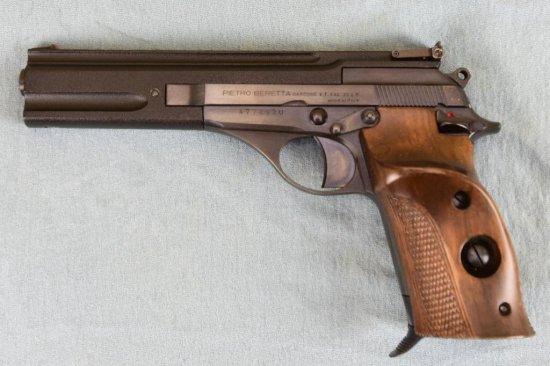Beretta MODEL 76 Semi Auto Target Pistol