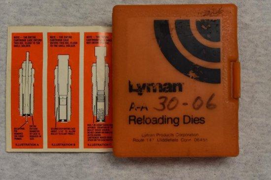 Lyman 30-06 Die's