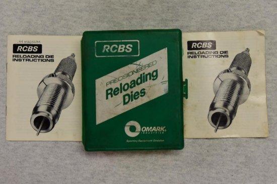 RCBS 44 Mag WC Die's