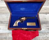 HAPPY TRAILS CHILDREN'S FOUNDATION- ROY RODGERS KIND OF THE COWBOYS COMMEMORATIVE UBERTI MODEL SAA