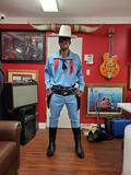HAPPY TRAILS CHILDREN'S FOUNDATION- COMPLETE LONE RANGER REPLICA OUTFIT