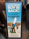 HAPPY TRAILS CHILDREN'S FOUNDATION- RARE MACINTOSH AND TJ ONE SHEET POSTER