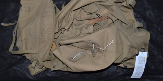 WWII MOUNTAIN TROOPS BACKPACK
