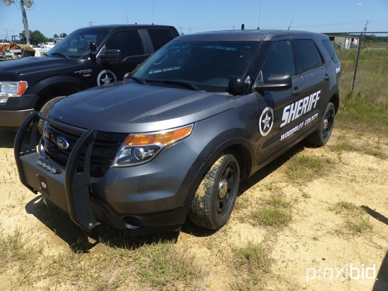 2014 Ford Police Interceptor SUV, All Wheel Drive, 96,000 miles, 3.7 ltr. e