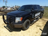 2012 Ford F150 XL, 4wd, 5.0 engine, 91,824 miles, Woodruff Co. Sheriff Dept