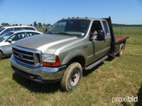 2000 Ford F350 XLT Super Duty, Extended Cab, 4WD, 7.3 ltr., diesel power st
