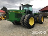 John Deere 8760 Tractor, 175HP or greater tractors 300 engine FHP Cab w/hea