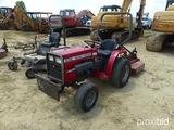 1010 Massey Ferguson Tractor, s/n 14064, 25HP, w/ Massey Ferguson Bush Hog,