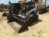 Bobcat S185 Skidsteer, cab, Hi Flow, 2 speed, combination hand & foot contr