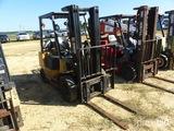 Cat Forklift, s/n 5AM09472, 5000lb capacity, 4ft forks, 3 stage mast