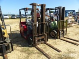 Tusk 500CGH-1C Forklift, gas engine, solid tires, s/n 211379A
