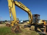 Kobelco SK220LC Excavator, s/n LLU2498, erops, standard stick, TBG, Bucket.