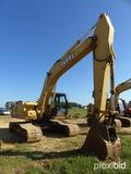 JD 230LC Excavator, erops, standard stick, TBG, bucket