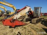 Hitachi EX160LC-5 Excavator, s/n 13KP002210, erops, standard stick, TBG, mi