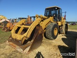 2004 Cat 966G Rubber-Tired Loader, s/n ANZ01045, enclosed cab, GP Bucket w/
