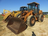 2013 Hydundai HL 757-9 Rubber Tired Loader, s/n HLM01VC0000482, has noise i