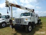 2000 International 2574 Crane Truck, DT530E, manual, front axle 40K, rear a