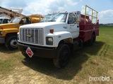 1994 Chevrolet C5500 Fuel Truck, vin 1GBJ7H1P5RJ104604, 8 cyl. gas engine,
