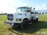 1994 Ford Aeromax Water Truck, s/n 1FTYS95W5RVA47460, Cat diesel 7 speed, 2