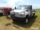 2005 GMC C4500 4WD Chemical Spray Truck, vin 1GDE4C3285F529298, Duramax Die