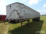Ravens Dump Trailer, aluminum 34ft model 1340A6062-114A96, Air lift front a