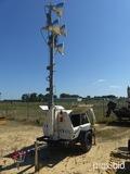 2012 Terex AL4000, s/n Al412998, Trailer mounted Kubota Diesel Light Tower,