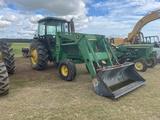 John Deere 4840 Tractor with John Deere 280 Front Loader