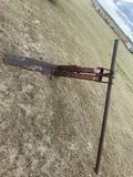 Set of Flip Forks for Backhoe