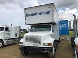 International 4700 DT466E Van Truck