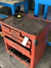 TOOLBOX W/ ASSORTED FILES AND MACHINING TOOLS