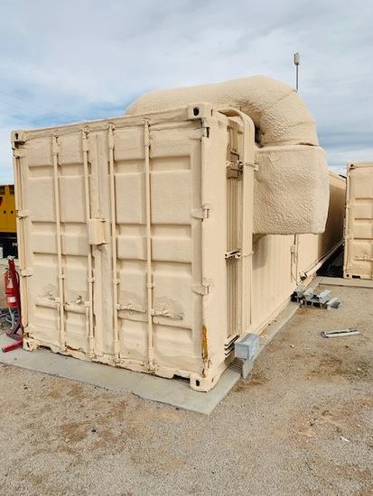Solar Battery Storage Facility in 2 Conexs