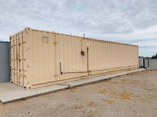 Solar Battery Storage Facility in 1 Conex