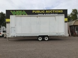 1990 Wenger Showmobile 84A1 Stage Trailer