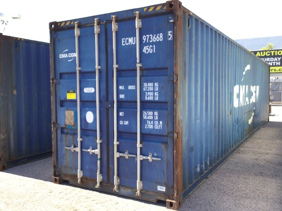 40FT HIGH CUBE STORAGE CONTAINER