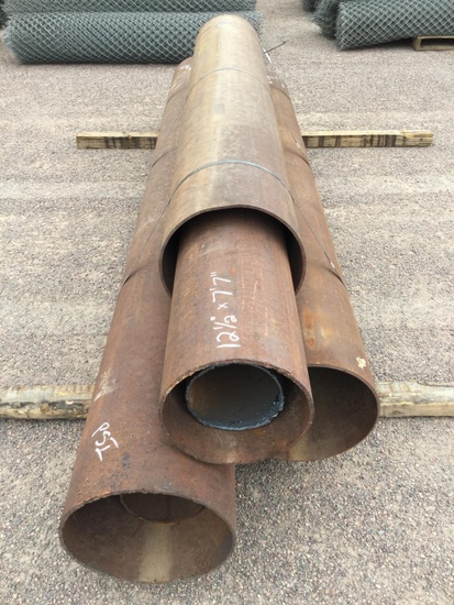 4 STEEL PIPES
