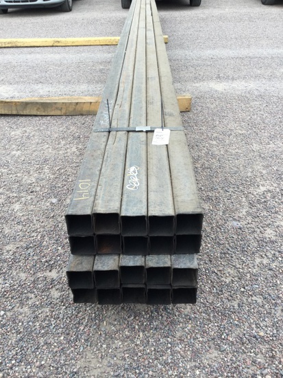 BUNDLE OF 2 3/4IN SQUARE TUBING