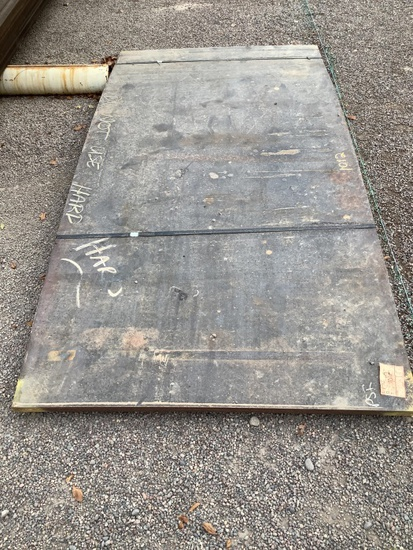 4FT X 8FT STEEL PLATE
