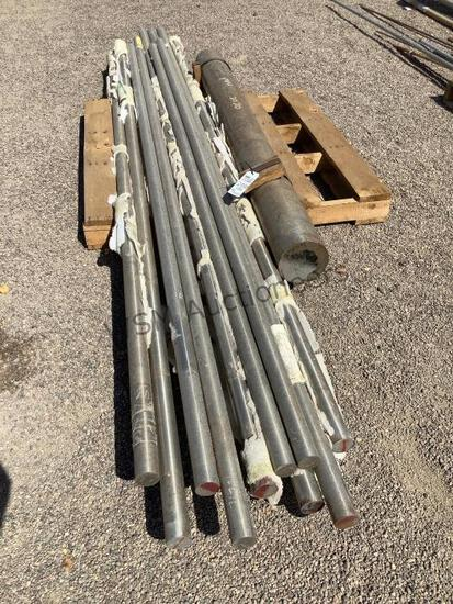 PALLET OF STAINLESS BAR STOCK
