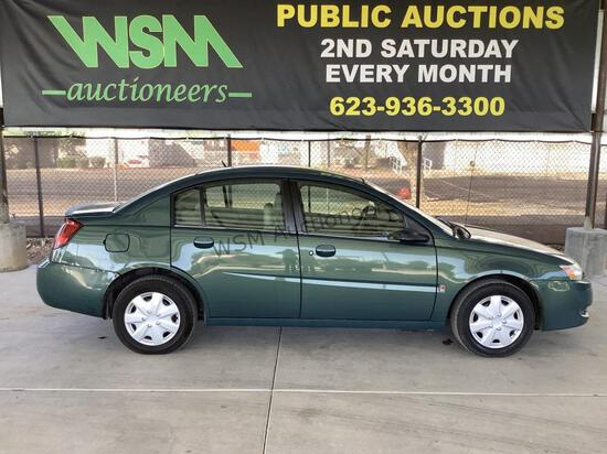 2007 Saturn Ion SDN