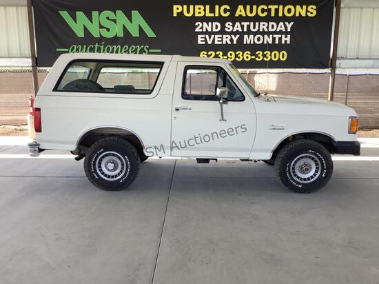 1991 Ford Bronco SUV