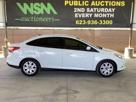2012 Ford Focus SDN