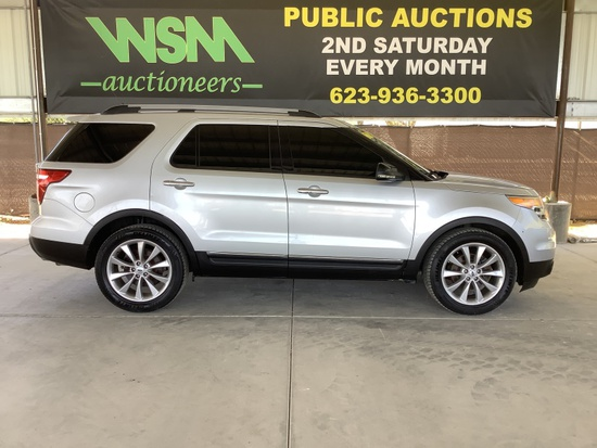 2012 Ford Explorer SDN