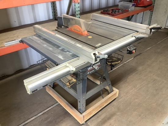 CRAFTSMAN 10IN BELT DRIVE TABLE SAW